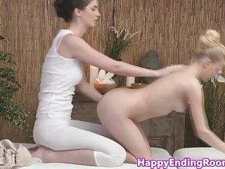 Casandra erotic massage - Classy closeup lesbians in erotic massage fun