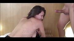 Caroline 22 ans etudiante se prend une double penetration 5