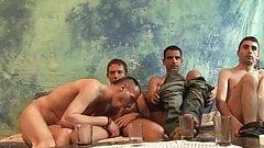 Quattro scopati gay