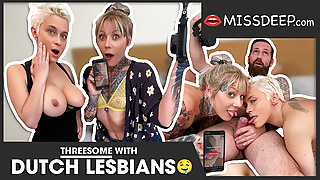HAHA, I made these two lesbians bi-sexual! MISSDEEP.com