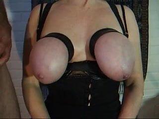 Dick slap videos Dick slapping her tits