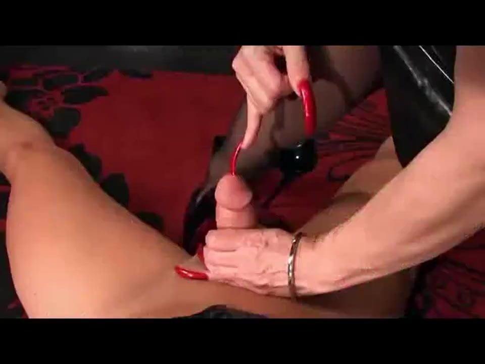 Latina Handjob Long Nails