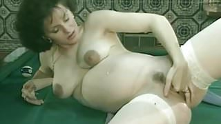 Pregnant, Billard and Fisting French Style