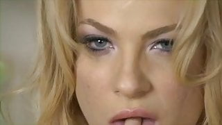 Deepthroat and anal for amazing blonde