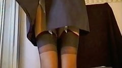 Raincoat and Stockings