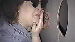 BBW in Gloryhole