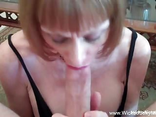 Granny oral gangbang Superior granny oral sex job