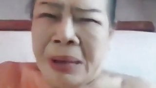 Thai Granny Has Not Got Fuck For A Long Time