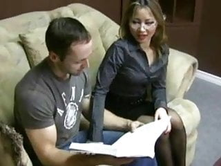 Excessive urine in sperm Girl in black pantyhose helps by hand unload excess sperm