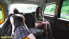 Fake Taxi Sex Doll Watches Cabbie Cheat with Brunette Tattoo