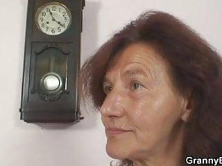 Niger fucks granny He fucks granny seamstress from behind