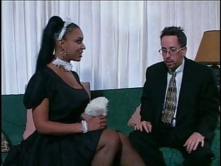 Game happy pussy Amazing hot black maid make boss happy