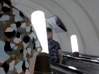 Gregory pisarski breast lift - Lifting skirt and shooting video upskirt girl in the metro.