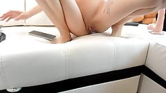 hot girl masturbate with dildo