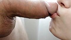 Blowjob closeup