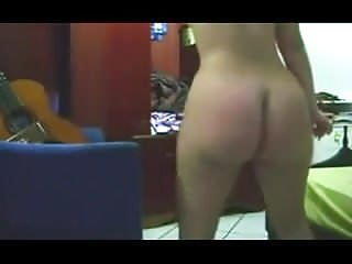 Naked thick - Thick ass girl dancing naked