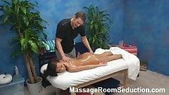 Massage Therapist Seduces Hot Teen