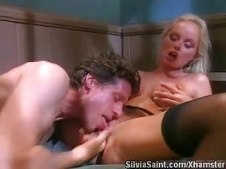 Silvia saint interracial erotica Silvia saint - fucked behind bars