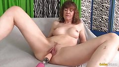 Golden Slut - Mature Women Vs Fucking Machines Compilation 3