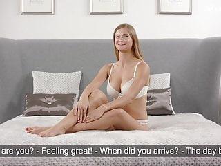 Virgin lingerie Christy tokareva super hot blonde virgin babe big tits mastu
