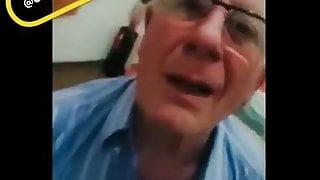 Old gentalmen BJ and giving cock