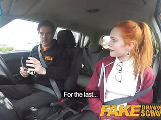 Hugh jackmans nude Fake driving school redhead ella hughes eats instructors cum