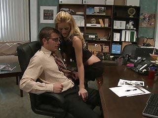 Hard long orgasm - Lonely secretary chloe conrad fucks and sucks hard long cock