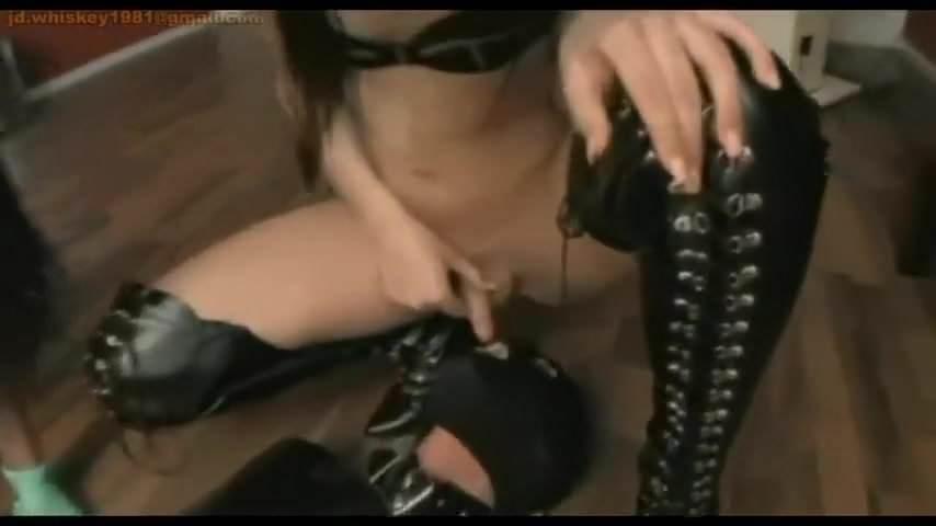 Lesbian Slave Licks Mistress