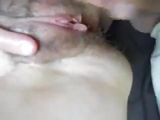 Swollen clit denied her the release - More spreading and cumming on wifes swollen clit