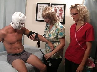 Sexy gynecolgy sedation exam Prostate exam becomes a ejaculation treatment