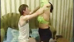 mature mom and teen guy