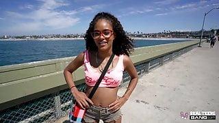Real Teens - Cute Black Teen Scarlit Scandal Gets Fucked