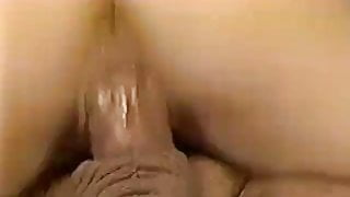 90's Style - Ron Jeremy ridden by sexy girl with nice ass