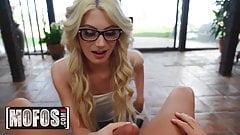 Smoking Hot Blonde With Nerdy Glasses Nella Jones Gets
