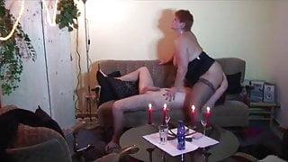 Sucking a big cock
