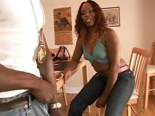 Ebony anal bang fat Ebony hottie butt-banged