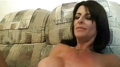 HOT MOM n146 brunette excited mature milf and a young man