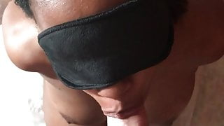 Deepthroat and face fuck training (First time)