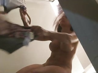 Naked girls in dressing room Ultra hot girl in dressing room-spy cam clip