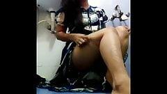 Sri lankan girl bathroom fun
