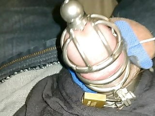 Male forced cum swallow Chastity and tend unit forced cum