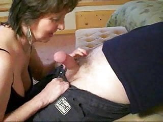 How to give anal sex Granny knows how to give a blowjob