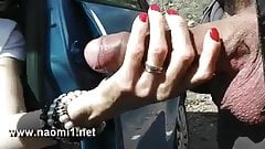 extrem sex on a parking by naomi1