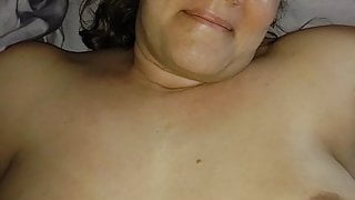 Long night, smeared makeup, a big cock, and creampied pussy