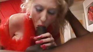 Dalny Marga Blowjob with Red Long Nails