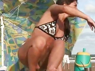 Hot bikini conteswt Hot bikini transparent hd cameltoe