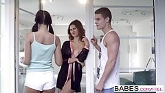 Babes - Step Mom Lessons - Peeping Tom starring Coco de Mal