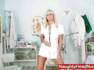 Mature uniform Mature frantiska pussy gaping in nurse uniform at clinic