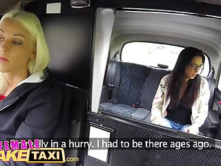 Actress fake sex - Female fake taxi amateur actress licks and fingers blonde