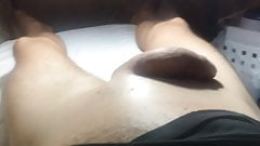 Brazilian Waxing of a Big Cock Part 9 Finally Cream
